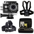 WI-FI HD Esportes câmera Ação Ir pro 12MP Cam Video Recorder DVR Camera + Peito