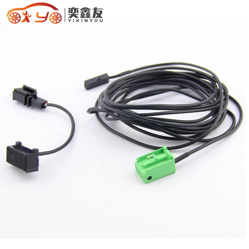 Yixinyou Bluetooth Module Wireless Microphone Wire Harness: 50PCS/LOT YIXINYOU Car Bluetooth Phone Microphone Harness