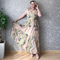 Women Summer Long Dress Bohemian Beach Print Dress Plus Sizes 2019 New Sexy Dress Evening Print Night Maxi Dress With Open Back