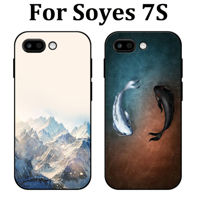fc542db141eb For Soyes 7S case cover Soft cases For Soyes 7S mini phone cover cute  cartoon skin For Soyes 7 S fundas capas For Soyes7S case