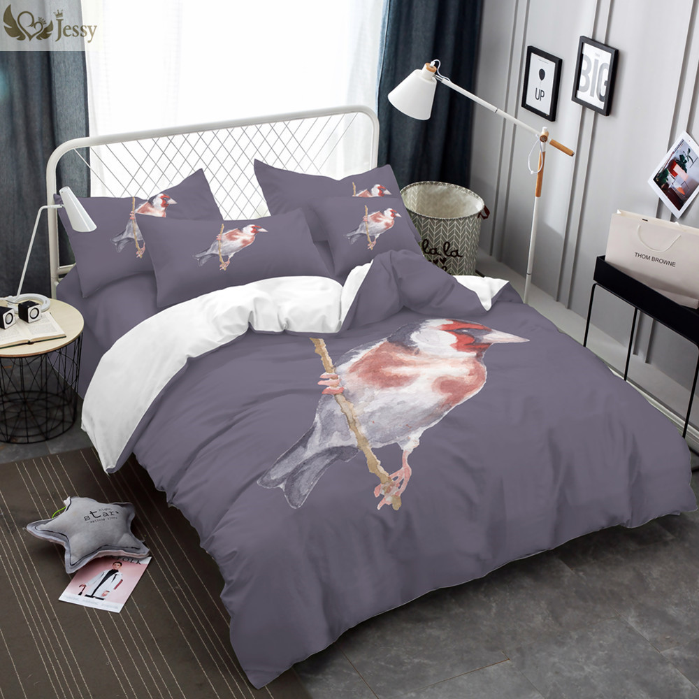 New Arrival One Bird On The Tree Bedding Set Pillowcases Duvet Cover Set Twin Full Queen King Comfortable Feeling Bed Linens