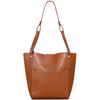 Brand Hot Sale Fashion Ladies Hobos Classic Women Handbag 100% Genuine Leather Large Capacity Shoulder Bag Casual Simple