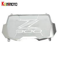 KEMiMOTO For Kawasaki Z900 2017 Radiator Guard Grill Protection For Kawasaki Z 900 2017 Parts Accessories