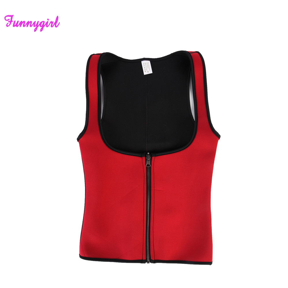 2d45bdc80bb Hot Neoprene Sweat Sauna Body Shapers Fat Burner Top Slimming Vest  Shapewear Weight Loss Waist Shaper Corsets-in Waist Cinchers from Underwear    Sleepwears ...