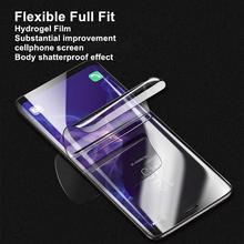 Luxury Screen Protector Film on the for iPhone 8 7 6 6s X XS XR Full Cover Soft Film on the for iPhone XS MAX Tempered Glass