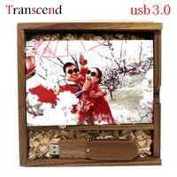 Transcend Fotografia Galeria Zdjęć Drewna usb + box USB Flash Drive 4 GB 8 GB 16 GB 32 GB Pen dysk Pendrive usb3.0