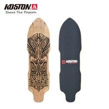 Koston Профессиональный longboard меч палубе 36 дюймов 9ply канадский клен ламинированные скоростной спуск длинные доски палубы LD294