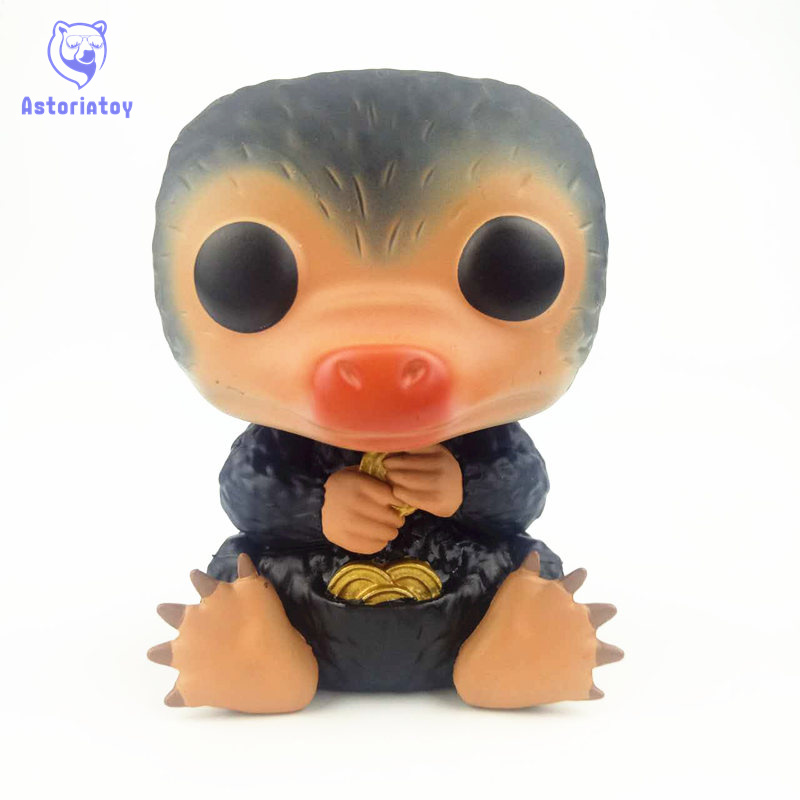 NEW 10cm Harry Potter Fantastic beasts Niffler action figure Bobble Head Q Edition no box for Car Decoration