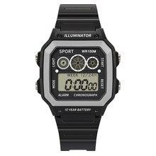 High End 50 Meters Waterproof Electronic Watch Luxury Men Analog Digita