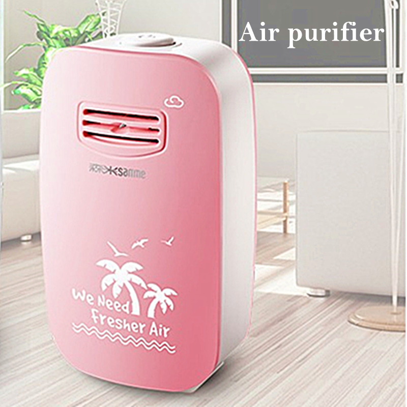 Air Purifier for Home Ozone Generator 220v Anion Generator Air Cleaner Ionizer Negative Ion Generator Sterilization Dusting New air purifier parts negative ion generator ionizer anion generator 2 carbon brush head 8 million ions cm3 free shipping wholesale