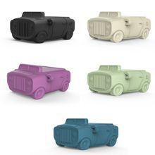 New Premium Soft Silicone Fashion Cute Car Protective Cover Shockproof Case Skin for Airpods 1/2 Charging Box