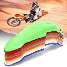 Plástico abs universal de plástico barro para guardabarros delantero de la motocicleta para ktm/honda/yamaha/kawasaki/suzuki