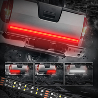High Quality 60 Inch 2 Row LED Truck Tailgate Light Bar Strip Red/White Reverse Stop Turn Signal Running for SUV RV Trailer