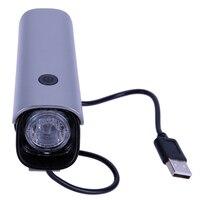 אור שפתוחה אופני רכיבה על אופניים אופניים נטענת USB מנורת LED מתח גבוה עמיד למים ראש פנס 4 מצבי תאורת אזהרה