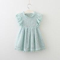 Baby Girls Dress Brand Summer Beach Style Lace Dresses For Girls Vintage Toddler Girl Tassel Clothing