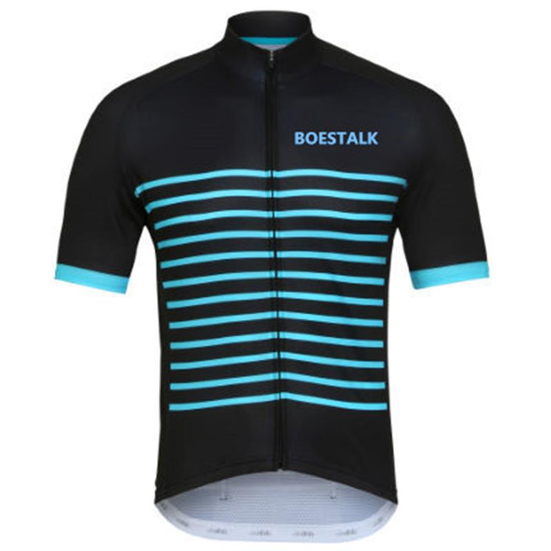 2018BOESTALK Team Bike Jersey Outdoor Mountain Biker mtb uci Ciclismo Quick Dry cycling jersey customizable cycling clothing