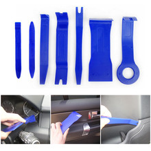 7Pcs/Set Portable Auto Car-Styling Radio Panel Door Clip Panel Trim Dash Audio Removal Installer Pry Kit Repair Tool цена