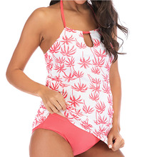 цены на Pregnant Woman Swimsuits Set  Printed Swimwear swimming Suit Bathing Suits 2 Piece Swimsuit Pregnant Women Plus Size Swim Wear  в интернет-магазинах
