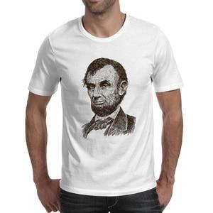 Abraham Lincoln My President T Shirt Rock Style Hip Hop T-shirt Pop Design Brand Unisex Tee