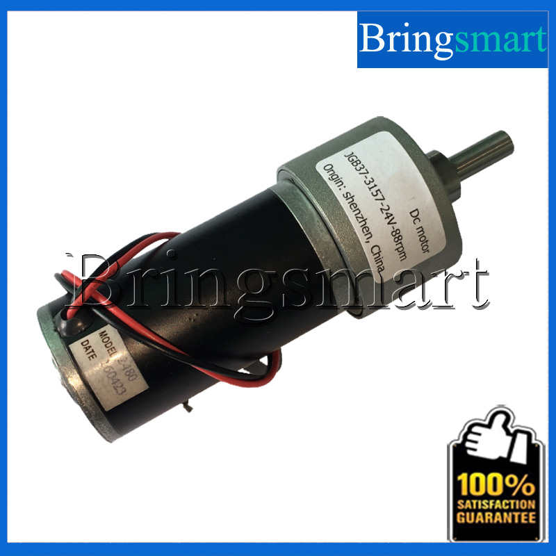 Bringsmart jgb37 3157 dc gear motor 12 volt reductor for 24 volt dc motor high torque