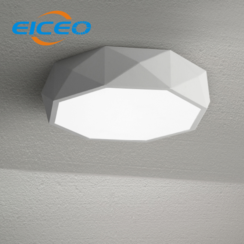 (EICEO) Creative Arts Personality Geometric Ceiling LED Lighting Minimalist Bedroom Restaurant Living Room Lamp Nordic Free Ship