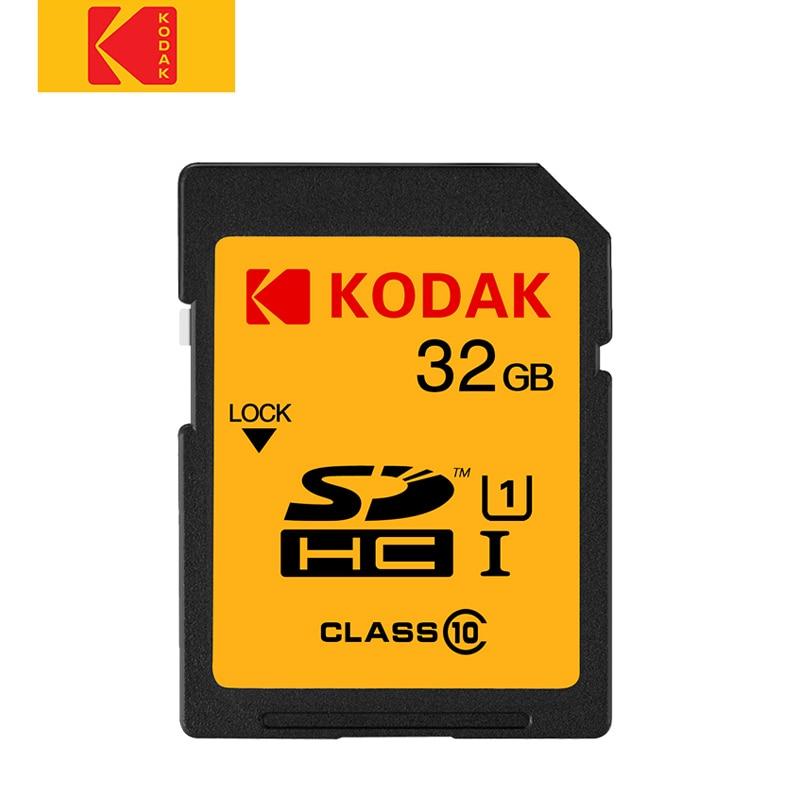 Kodak Sd Card 16gb 32gb Memory Card Class10 High Speed Tarjeta Sd For Canon Nikon Sony Camera Card Digital SLR Camera
