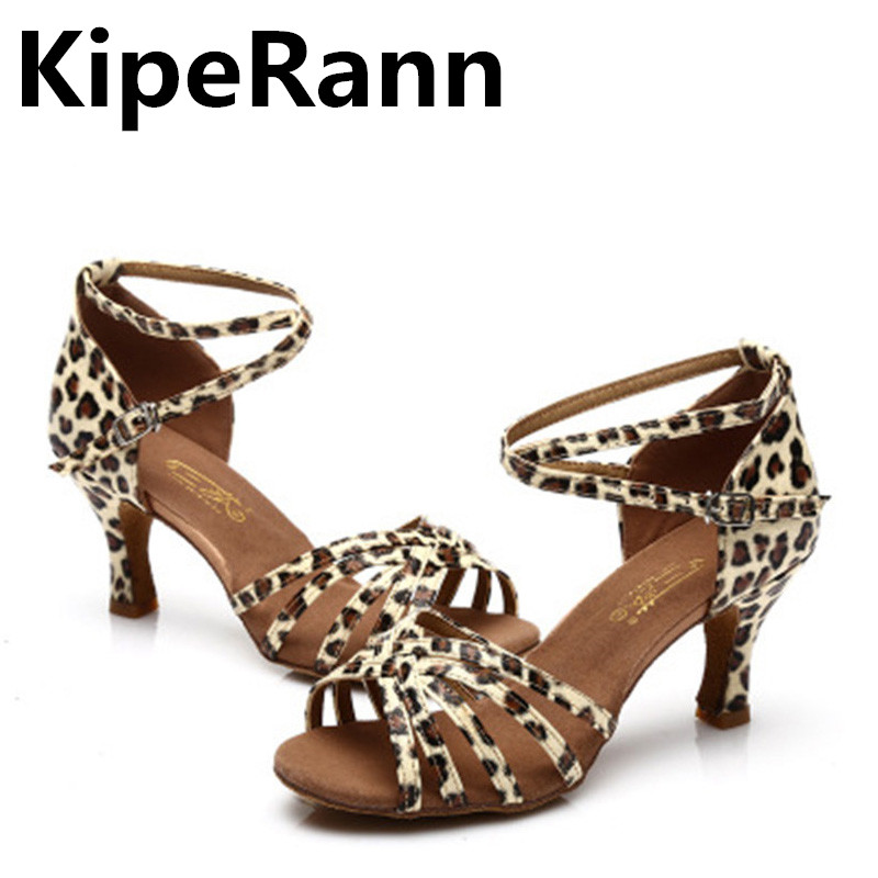 KipeRann Best selling women's professional dance shoes ballroom dance shoes ladies Latin dance shoes high heels 5CM / 7CM