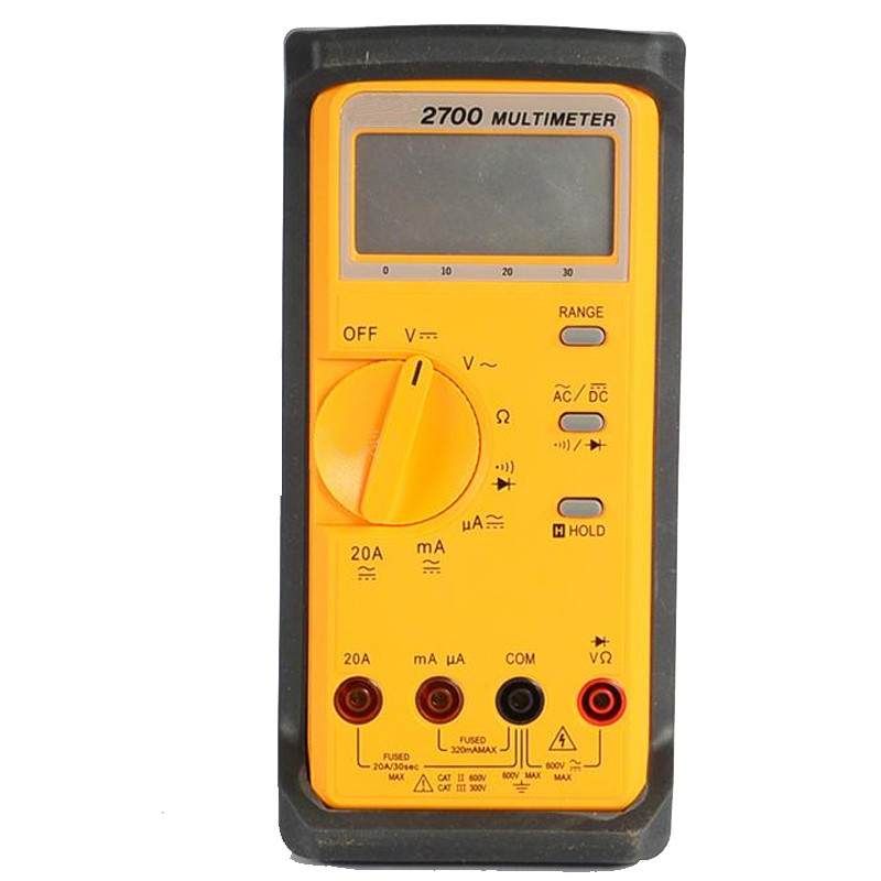Hot Sale Original LCR Multimeter 3200 Count LCD With Analog Bar-graph Digital Portable Autoranging Auto-power-off Multimeter hot sale 1pcs digital multimeter ua7906