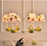 Nordic garden bird chandelier simple boy girl children bedroom bedroom children chandelier CL