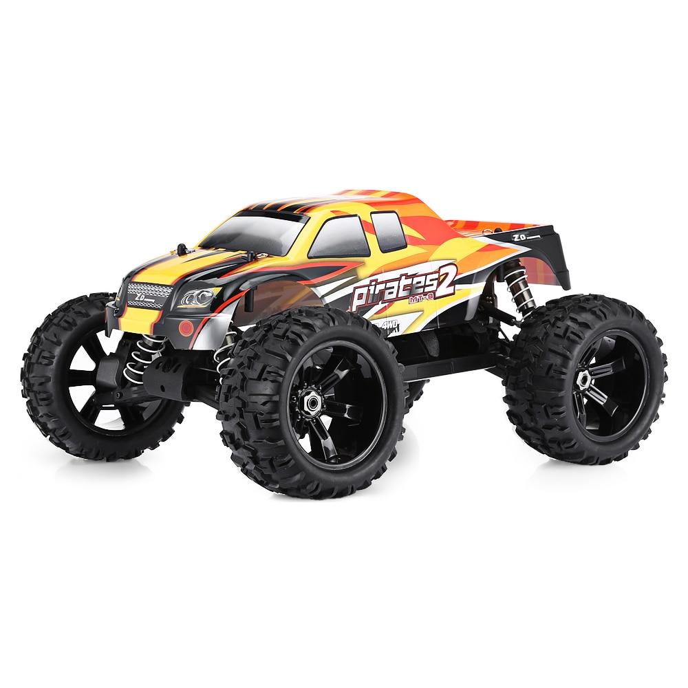 1:8 voitures RC de course à l'échelle 4WD jouets télécommandés voiture tout-terrain de camion monstre sans Version de KIT de pièces électroniques
