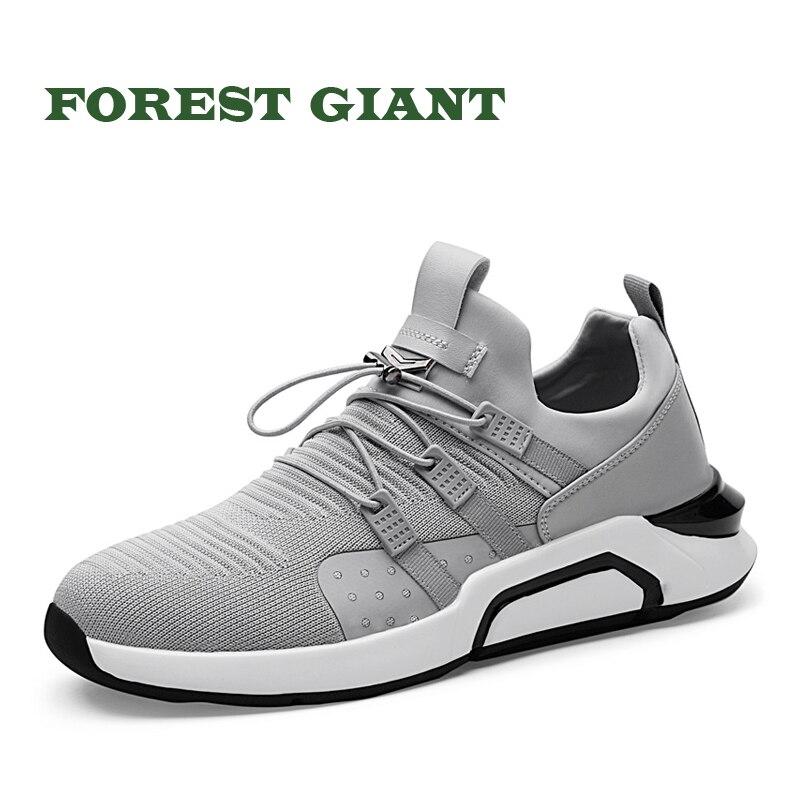 Bosque gigante primavera verano Zapatos hombres moda Casual calzado diseñador hombre Lace-up zapatos de marca hombres zapatos Casual 5245
