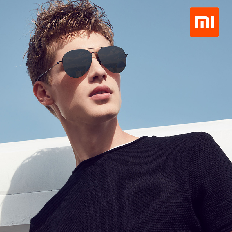 Original Xiaomi Turok Steinhardt TS Brand Nylon Polarized Stainless Sun Lenses Man Woman Glasses 100% UV-Proof for Outdoor