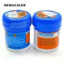 NEWACALOX Welding Tool MECHANIC Solder Paste Flux XG-50 Sn63/Pb67 SMD SMT For 936 852D+ BGA Soldering Iron Station 2pcs/lot