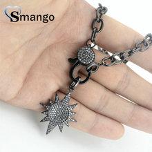цены на Pop Charms,Fashion Jewelry ,The Star Shape Cubic Zirconia Pendant Necklace, Necklace Women,3Pieces в интернет-магазинах