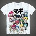 Японский Волхвов: Лабиринт Магия Марджана аниме футболки Aladdin Saluja хлопчатобумажную рубашку Косплей Костюмы аниме одежда