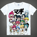 Japanese Magi: The Labyrinth of Magic anime  t-shirt Aladdin Saluja Morgiana cotton shirt Cosplay Costumes anime clothing