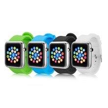 Smart watch S68 für Android & IOS unterstützung SMI/TF männer bluetooth armbanduhr smartwatch telefon pk leomf gv18 gt08 DZ09 m26