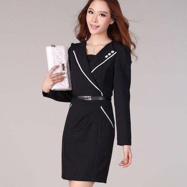 Korean Black Prom Dress