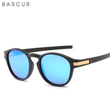 BARCUR TR90 Frame Polarzied Outdoor Sunglass latch metal Sports Sun glass men oversize looking Color sunglasses women