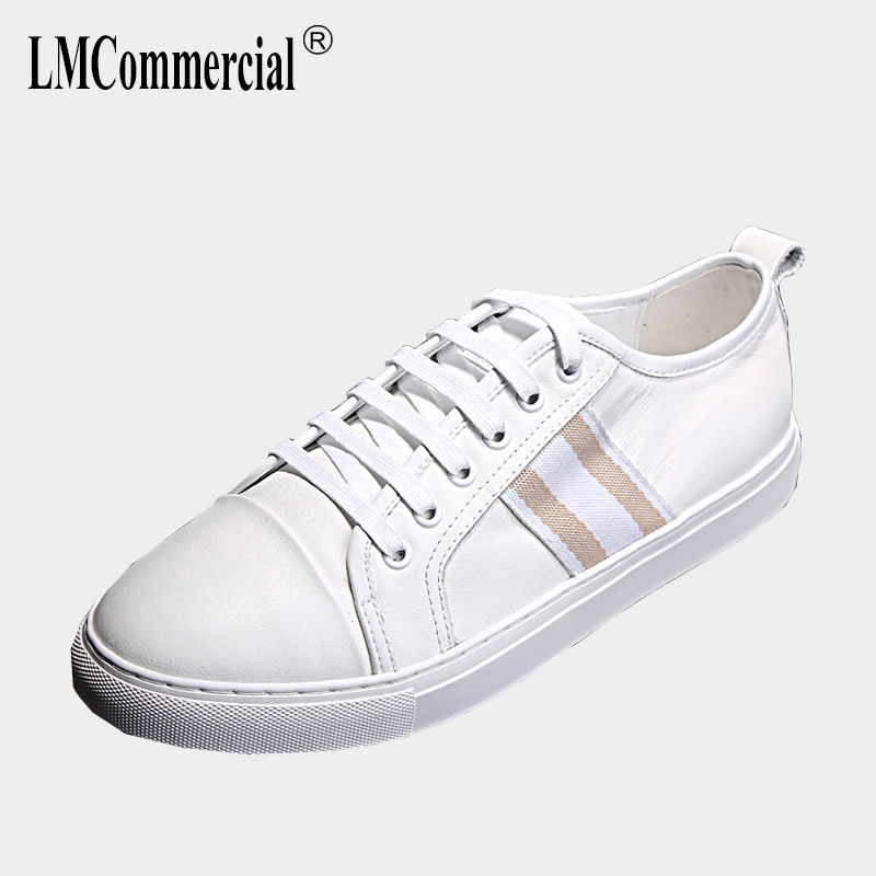 men's high-top leisure shoes breathable Genuine Leather shoes men breathable sneaker fashion men casual shoes all-match cowhide top brand high quality genuine leather casual men shoes cow suede comfortable loafers soft breathable shoes men flats warm