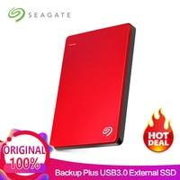 Seagate 2TB Backup Plus Slim USB 3.0 2.5 External HDD Portable External Hard Drive Disk 2TB Desktop Laptop Extrenal Hard Drive
