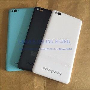 Image 2 - Original Batterie Abdeckung für Xiao mi mi 4i mi 4c mi 4I 4C Hinten Gehäuse Zurück Tür Fall Mit Flash ersatz Teile
