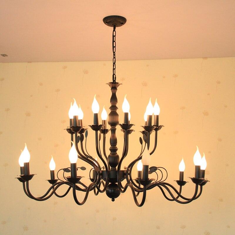 Euro Chandelier Lighting: Aliexpress.com : Buy European Iron Chandelier Lighting