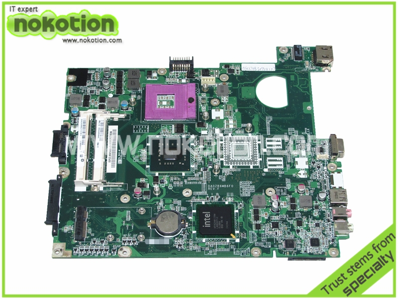 MB.EDV06.001 MBEDV06001 DA0ZR6MB6F0 REV F For Acer extensa 5635 Laptop motherboard GL40 DDR3 Mainboard Motherboard