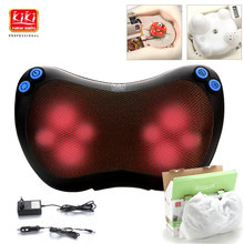 KIK NEWGAIN neck multifunktions gericht massager massage kissen Kissen zervikale lenden leg massager körper massager schulter 12V(China)