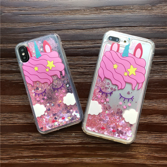 Pink Unicorn Cover For iPhone