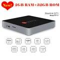 Actualizado gt1 beelink amlogic caja de la tv 2 gb ram 32 gb rom octa s912 Core Android 6.0 2.4G + 5.8G Dual WiFi Bluetooth 4.0 Reproductor de Medios