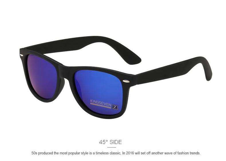 Fashion Brand designer Mens Retro Mirror Sunglasses for Women and Men Sports Driving Polarized Coating UV400 Eyewear Sun Glasses 4