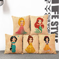 throw pillows Decorative Cotton Fairy Princess Mermaid Pillow Case Cover Pillowcase House New household Bedclothes cushions