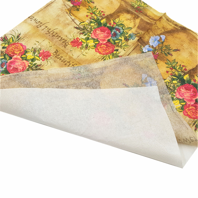 Disposable Vintage Table Napkins